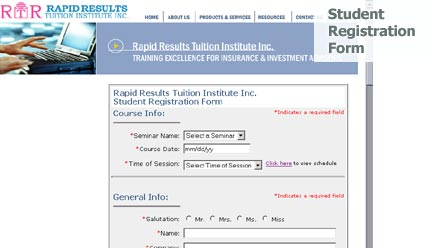 Rapid Results Tuition - Giant Step