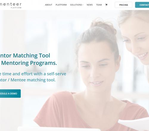 menteer_platform_mentor-matching_software_Toronto
